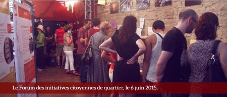 Forum des initiatives de quartier