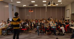 80 personnes présentes pour découvrir les initiatives étudiantes !