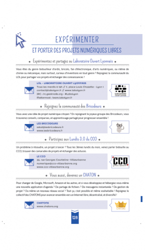 Guide page projets libres