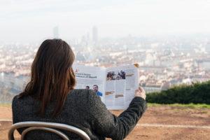 Magazine Agir à Lyon et ses alentours - Cécile Rouin