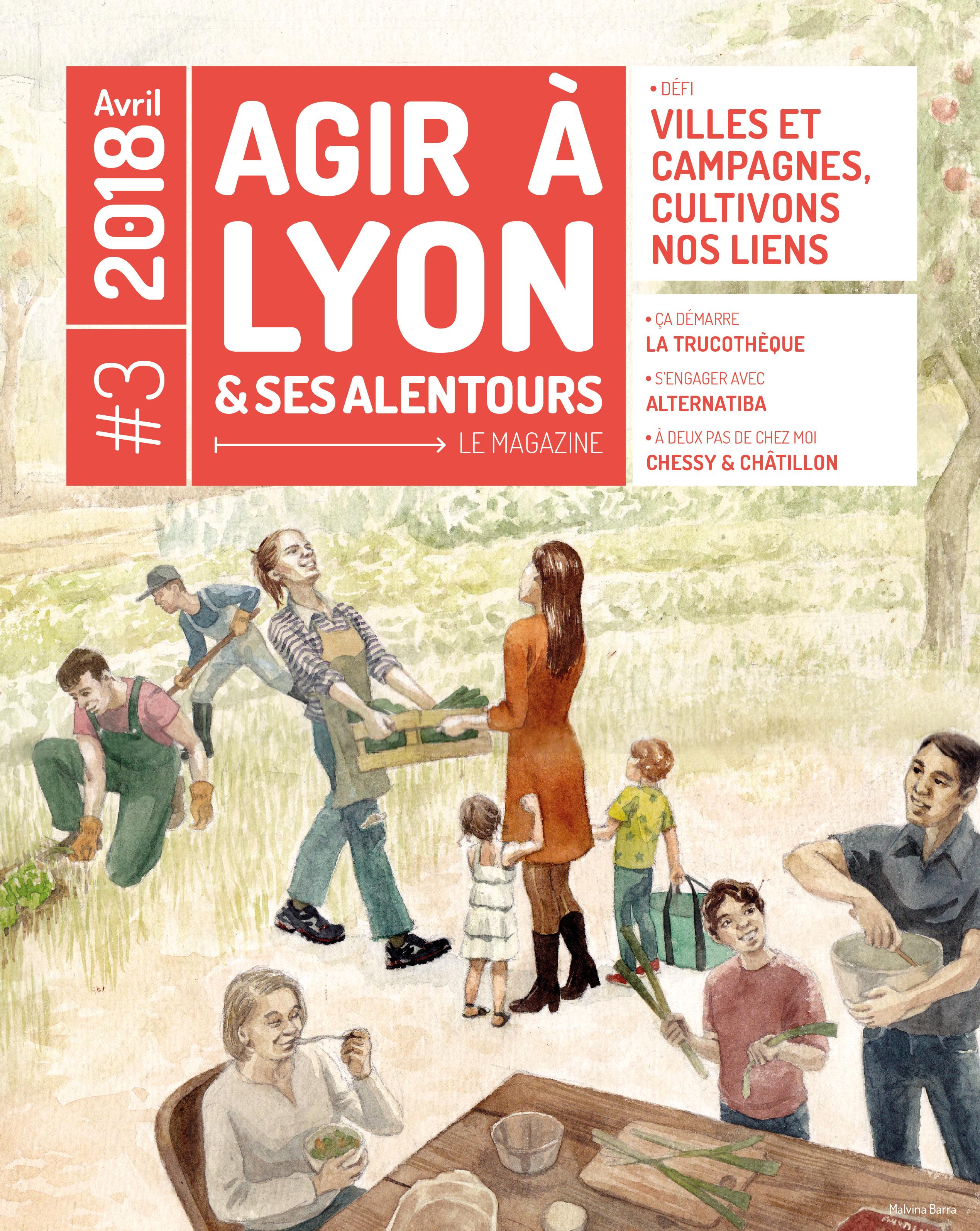Magazine Agir à Lyon et ses alentours, numéro 3